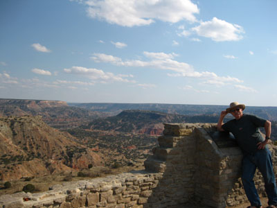 Randy at Palo Duro Canyon