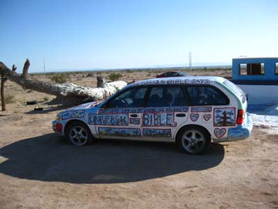 Folk Art Car