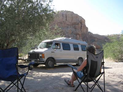 Canyon Campsite
