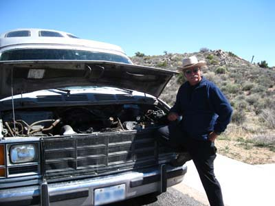 Water Pump troubles at Joshua Tree