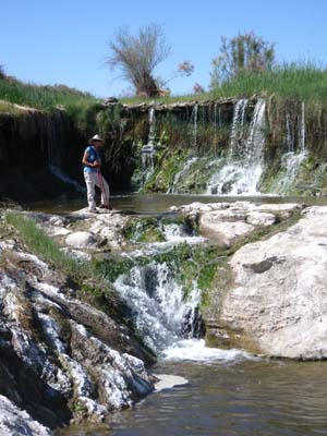 Waterfalls on the Amargosa River