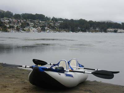 Sea Eagle kayak