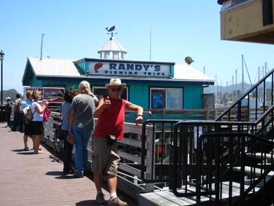Monterey -Randy's fishing trips
