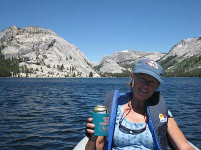 Paddling on Tenaya Lake