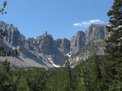 Great Basin-view from campground