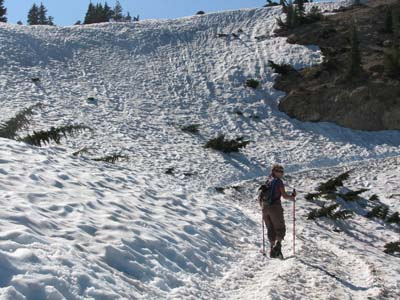 trail to Bumpass Hell