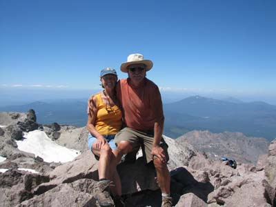 Top of Mount Lassen