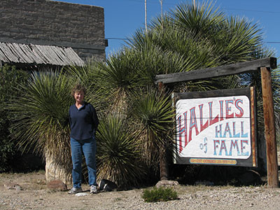 Sign For Hallie's Hall Of Fame