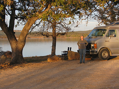Lake Buchanan, Texas, Feb, 2008