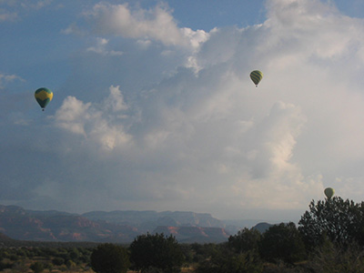 Baloons View From Camp