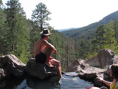 New Mexico has many hot springs