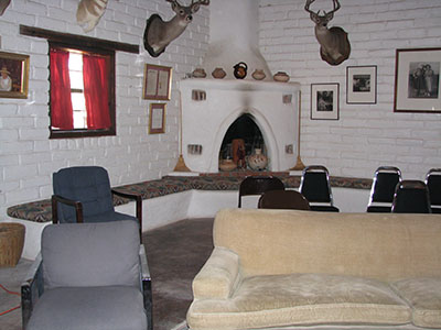 Seating in the museum