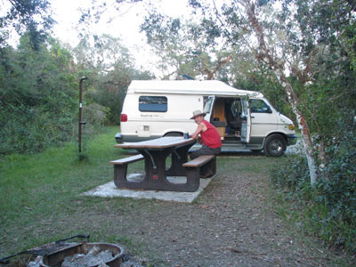 Free camping in Big Cypress National Preserve
