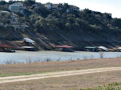 Lake Travis boat docks