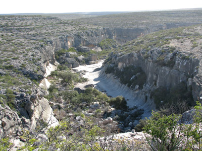 Seminole Canyon Rim Trail