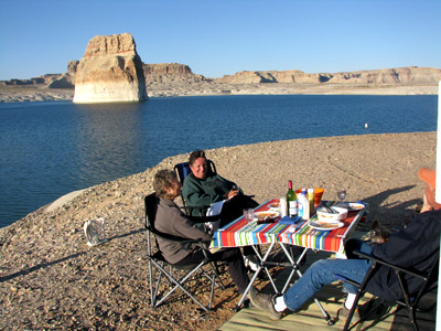 at Lone Rock Beach, Lake Powell