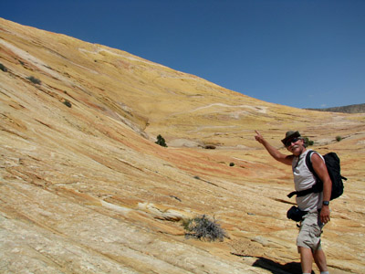 the Yellow Rock in Escalante