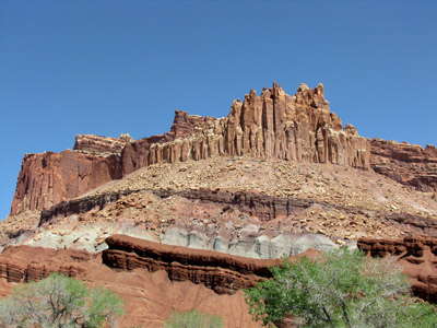 Castle Rock, Capital Reef National Park
