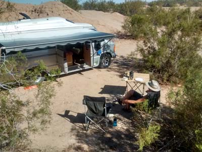 Holtville Hotsprings camping