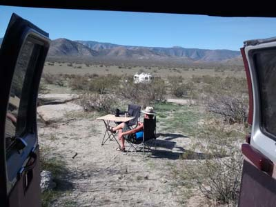 Blair Valley Camp, Anza Borrego