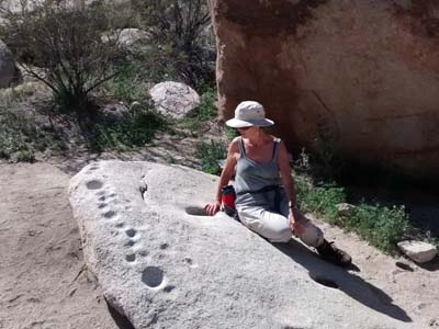 Morteros trail, Anza Borrego