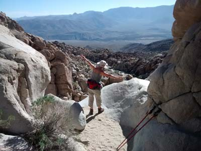 Pictograph trail, Anza Borrego