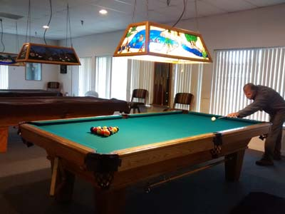 Jojoba Hills billards room