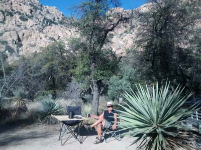 National Forest Free Campsite