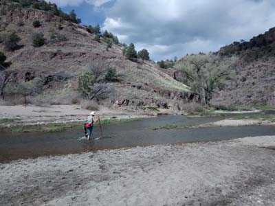Trail Crossing the Gila River