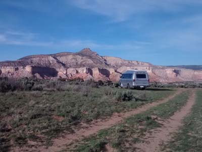 New Mexico dispersed camping