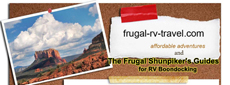 Half size banner Frugal Shunpiker's RV Boondocking Guides