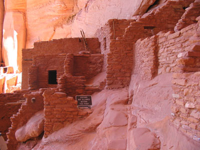 Betatakin cliff dwelling at Navajo National Monument
