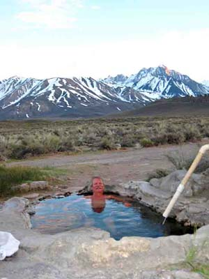 California has many free natural hot springs