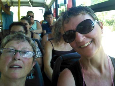 Riding Costa Rica buses