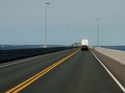 Confederation Bridge to P.E.I.