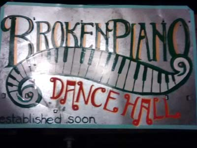 Broken Piano Dance Hall
