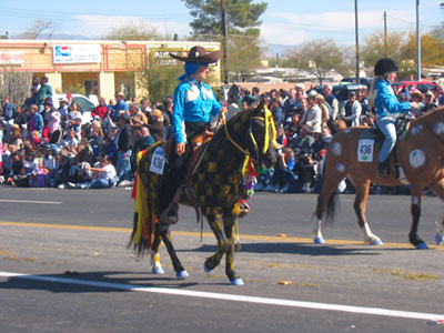Tucson horse drawn parade