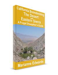 California Boondocking: The Deserts and Eastern Sierra