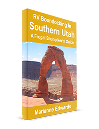 RV Boondocking In Southern Utah