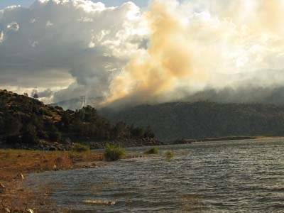 Forest Fire, Lake Isabella