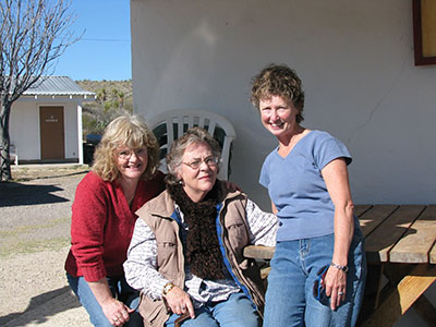 me with Nan and Anne Whitford