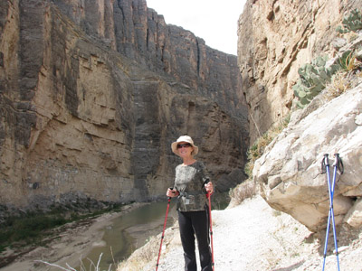 hiking Santa Elena Canyon