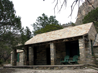Hunter Line Shack on McKittrick Trail