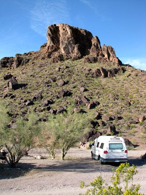 Lake Havasu boondocking
