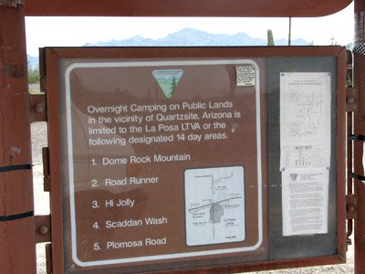 LTVA areas sign