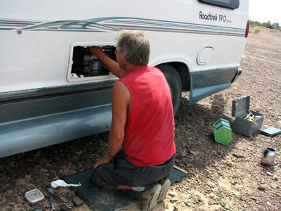 RV Fridge Repair