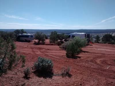 Camping in Butler Wash, Utah