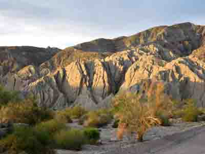Free camping on the San Andreas Fault