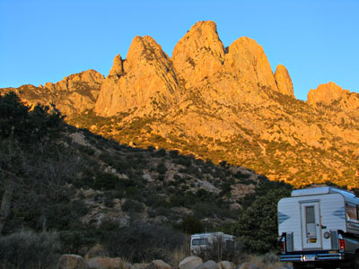 New Mexico free campground