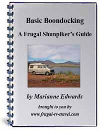 Basic Boondocking - A Frugal Shunpiker's Guide